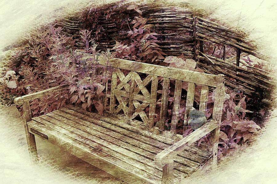 The Garden Bench by Karen McKenzie McAdoo