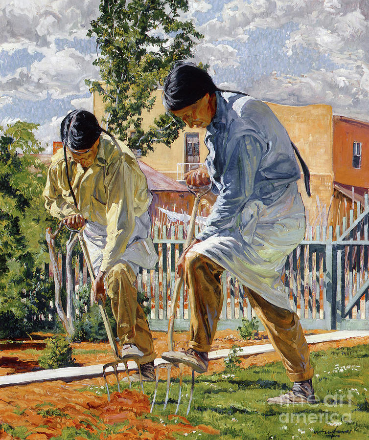 The Garden Makers, 1923 by Walter Ufer