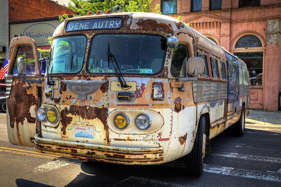 The Gene Autry Tour Bus by David Patterson