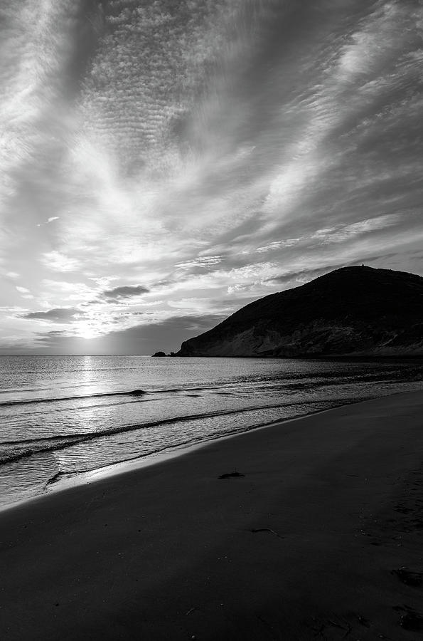 The Genoveses beach in Almeria at sunrise, Spain by Vicen Photography