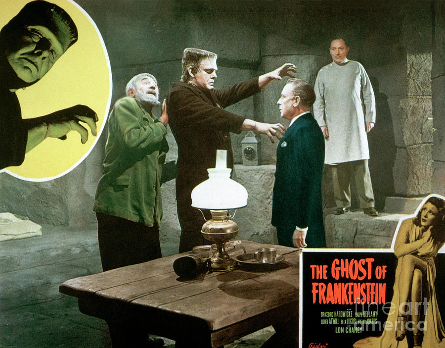 The Ghost Of Frankenstein Movie Poster Photograph by Bettmann