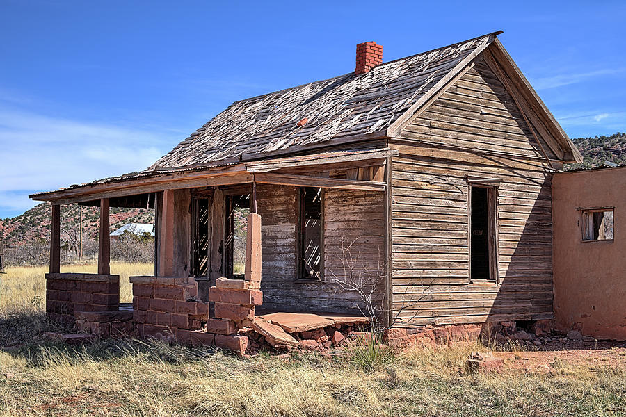 New Mexico Photograph - The Ghost Town Of Cuervo by JC Findley