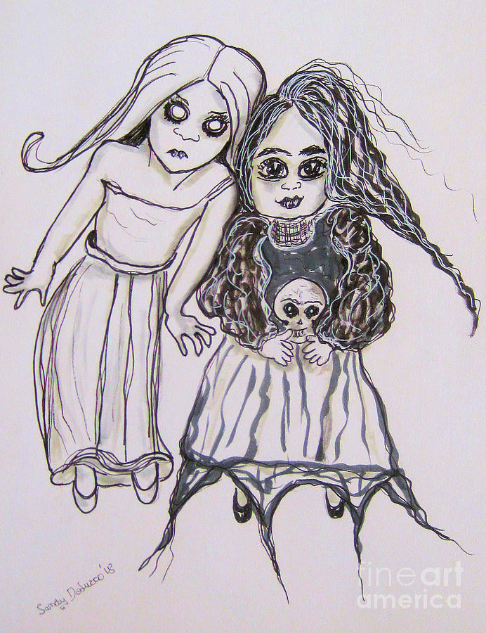 The Ghosts of Childhood by Sandy DeLuca