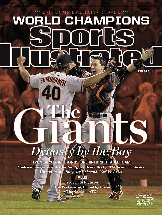 The Giants Dynasty By The Bay Sports Illustrated Cover Photograph by Sports Illustrated