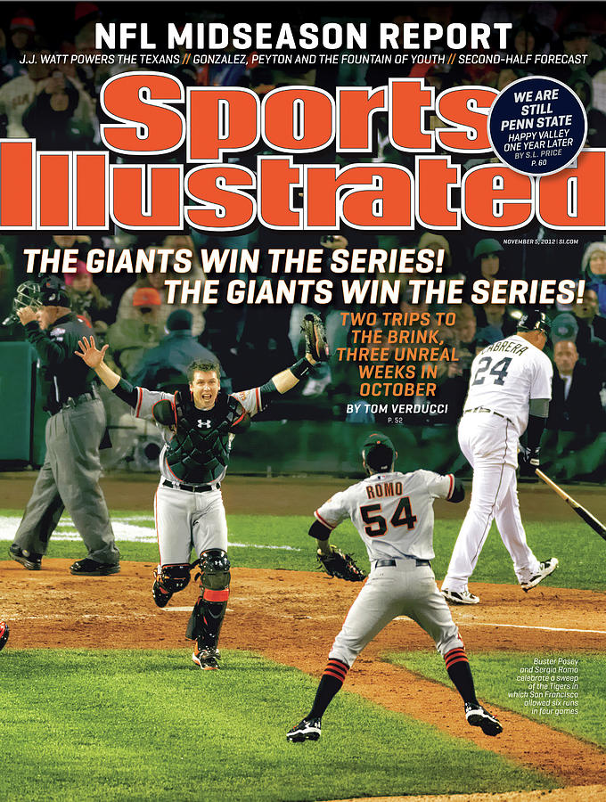The Giants Win The Series The Giants Win The Series Sports Illustrated Cover Photograph by Sports Illustrated