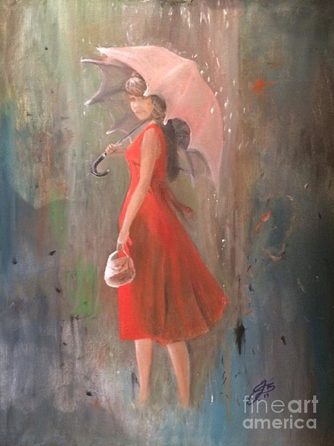The Girl in the Rain by Jennifer Thomas