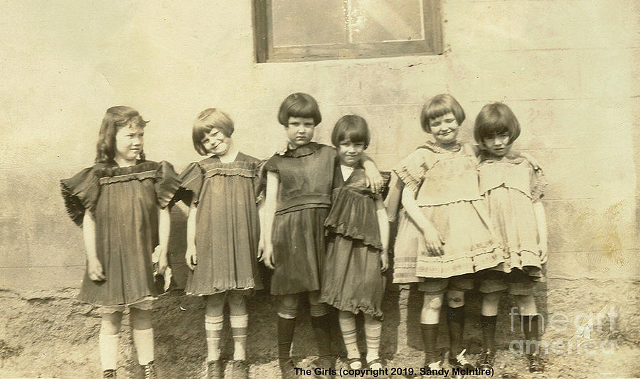 The Girls 1923 by Sandy McIntire