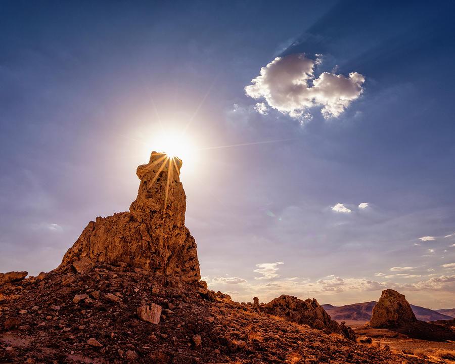 Landscape Photograph - The Glorious Sun by Nazeem Sheik