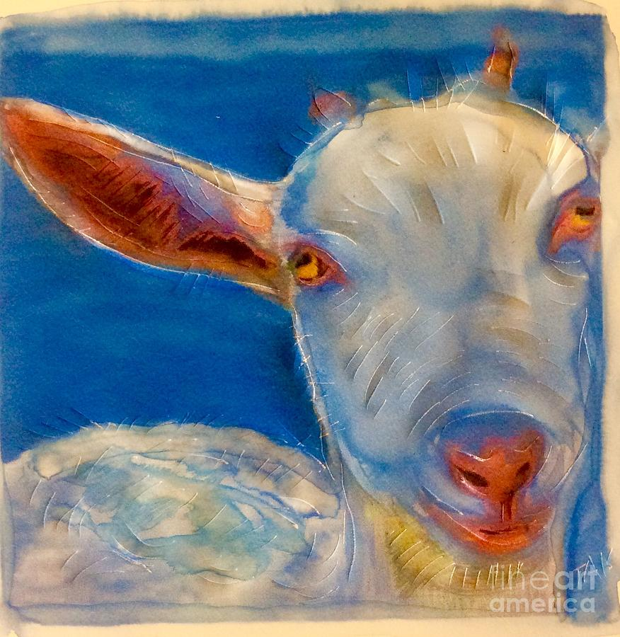 The Goat blues by FeatherStone Studio Julie A Miller