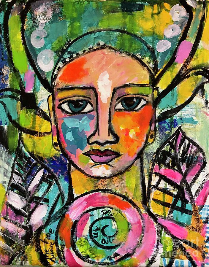 The Goddess of self love  by Corina Stupu Thomas