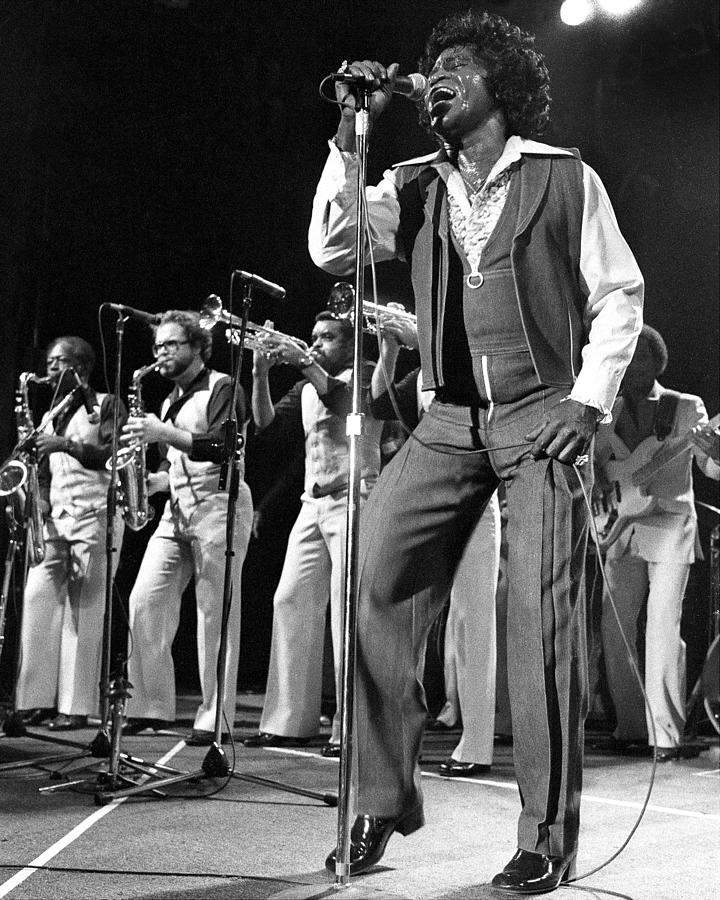 The Godfather Of Soul James Brown Photograph by New York Daily News Archive