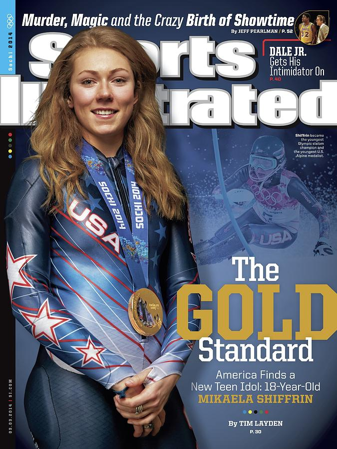The Gold Standard, America Finds A New Teen Idol Sports Illustrated Cover Photograph by Sports Illustrated