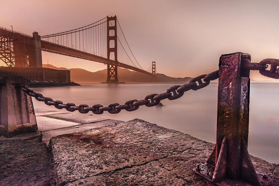 The Golden Gate by Francisco Gomez