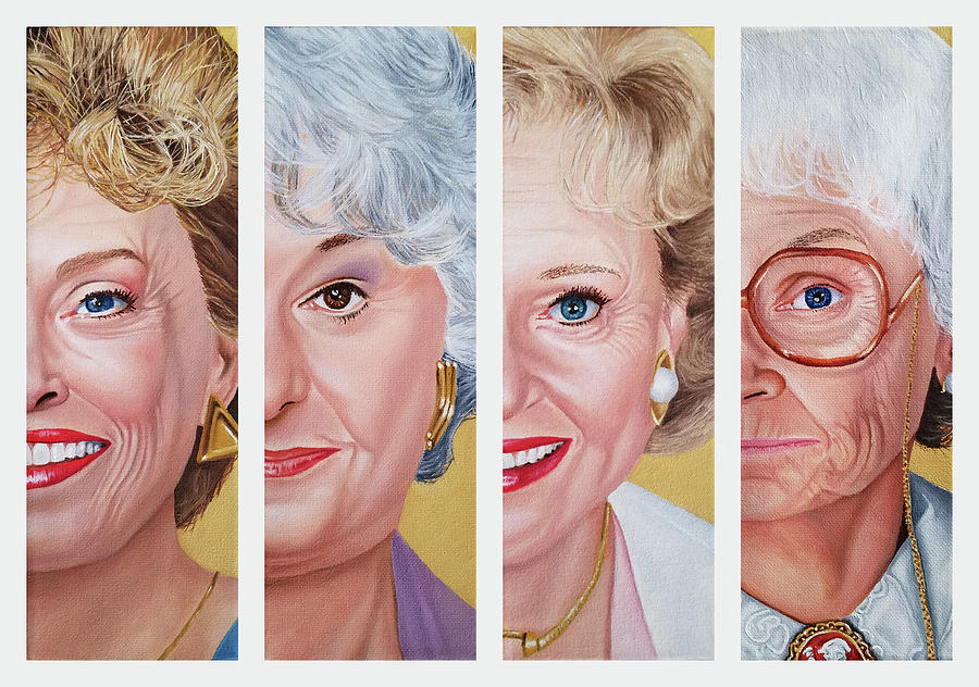 The Golden Girls by Vic Ritchey