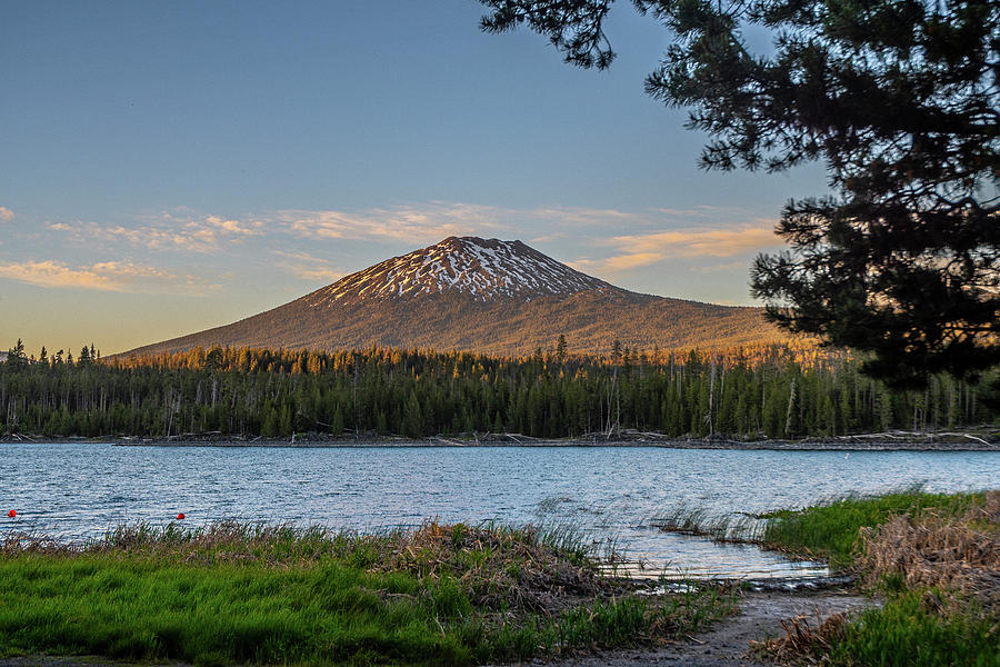 The Golden Hour at Lava Lake  by Matthew Irvin
