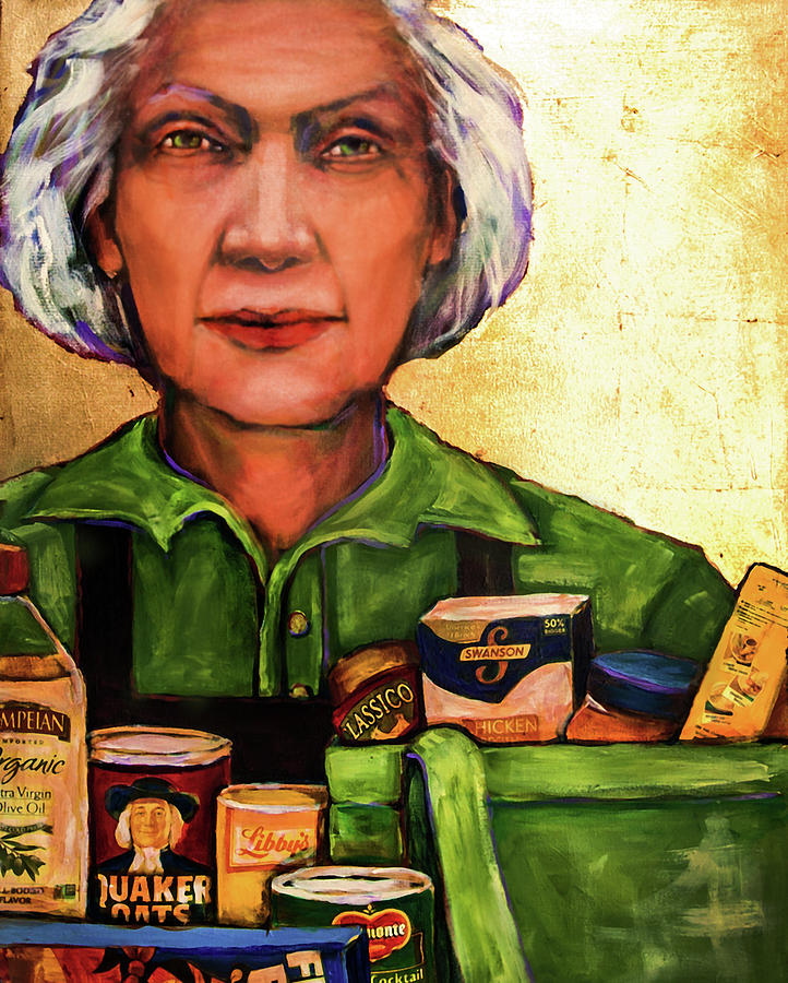 The Golden Years - Grocery Bagger by Cora Marshall