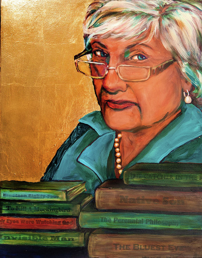 The Golden Years - Library Assistant by Cora Marshall