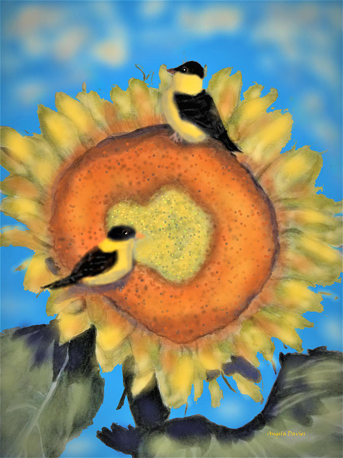 The Goldfinch Buffet by Angela Davies