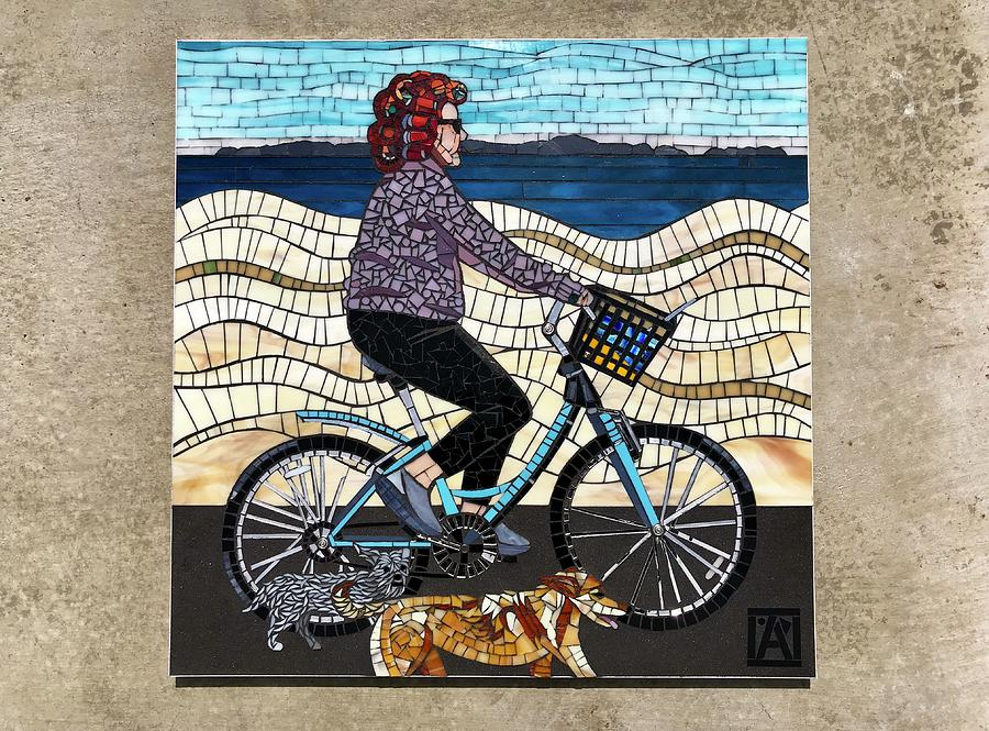 Mosaic Mixed Media - The Good Life  by Anne Marie Price