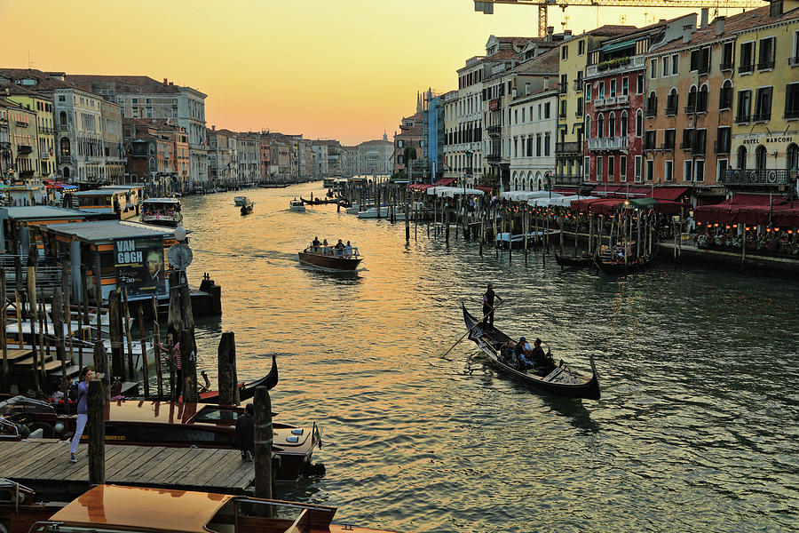 The Grand Canal by Mary Buck