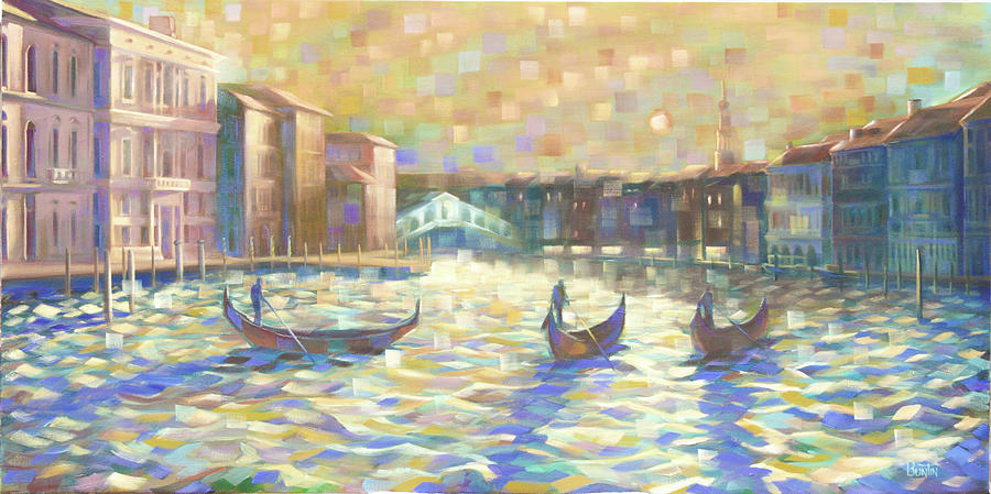 Grand Canal Painting - The Grand Canal by Rob Buntin