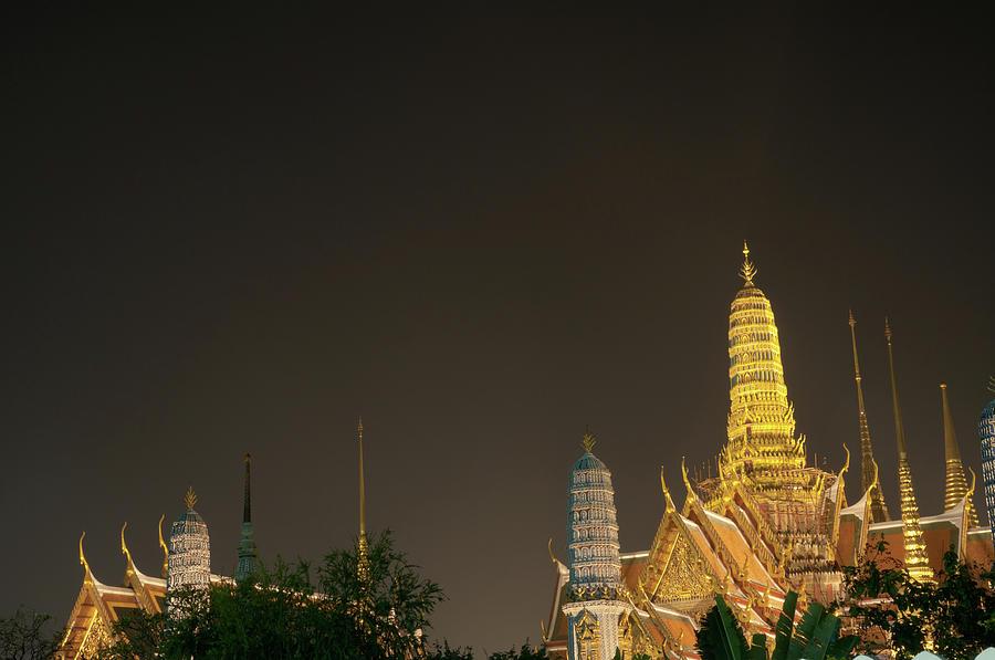 The Grand Palace In Bangkok, Thailand Photograph by Tbradford