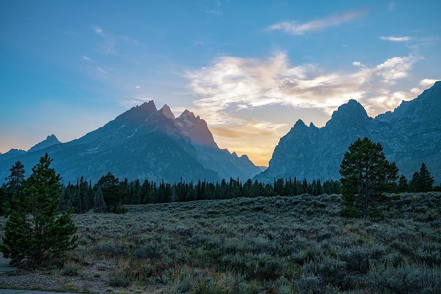 The Grand Teton Mountains Photograph