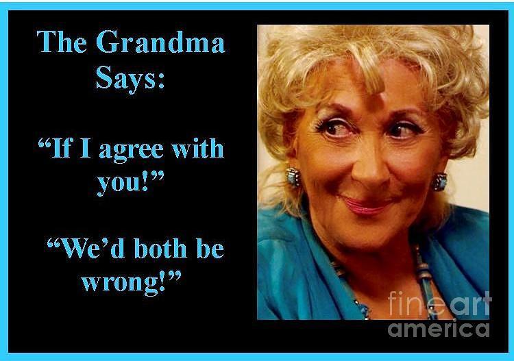 The Grandma Agrees by Jordana Sands