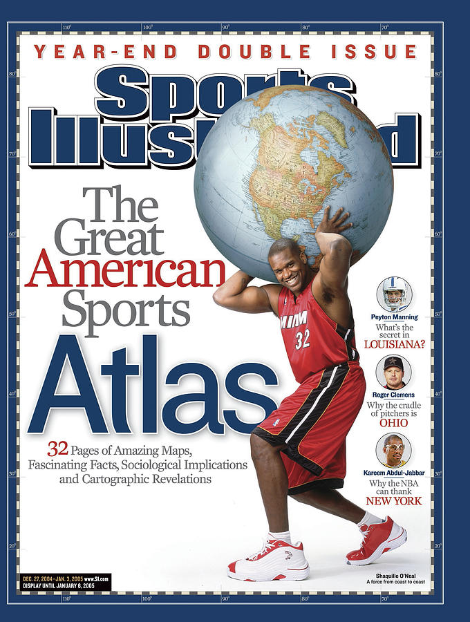The Great American Sports Atlas Sports Illustrated Cover Photograph by Sports Illustrated