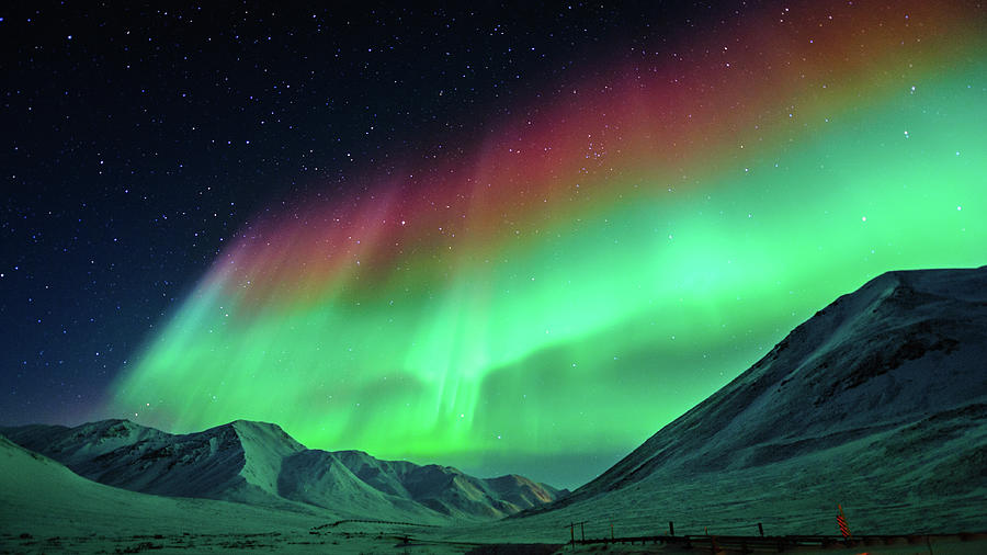 The Great Barrier Of Aurora Photograph by Noppawat Tom Charoensinphon