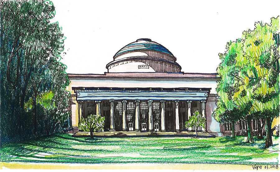 The Great Dome at MIT Campus by Yang Luo-Branch