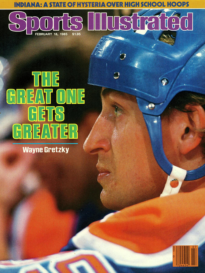 The Great One Gets Greater Wayne Gretzky Sports Illustrated Cover Photograph by Sports Illustrated