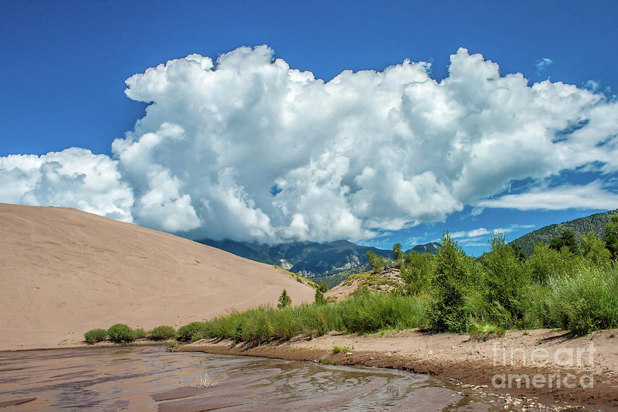 The Great Sand Dunes by Tony Baca