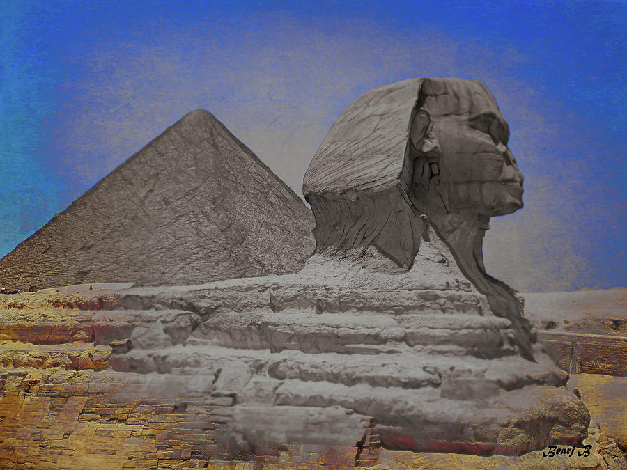 The Great Sphinx by Bearj B Photo Art