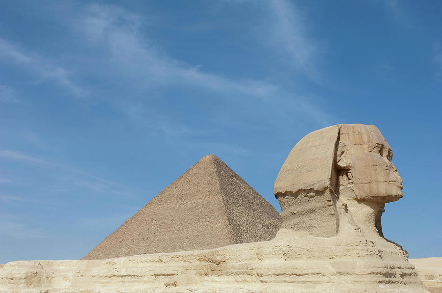 The Great Sphinx Of Giza And The Photograph by Cultura Exclusive/philip Lee Harvey