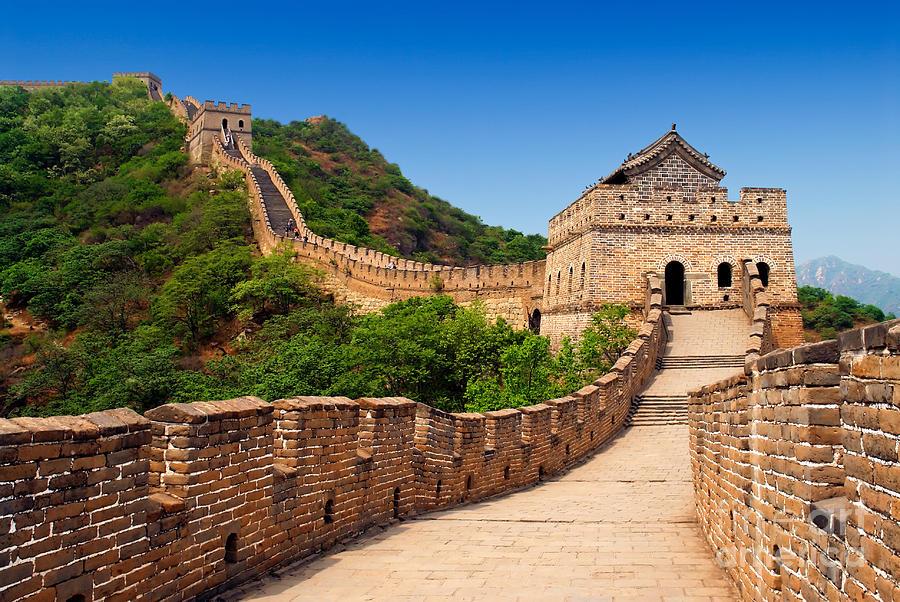 China Photograph - The Great Wall Of China by Izmael