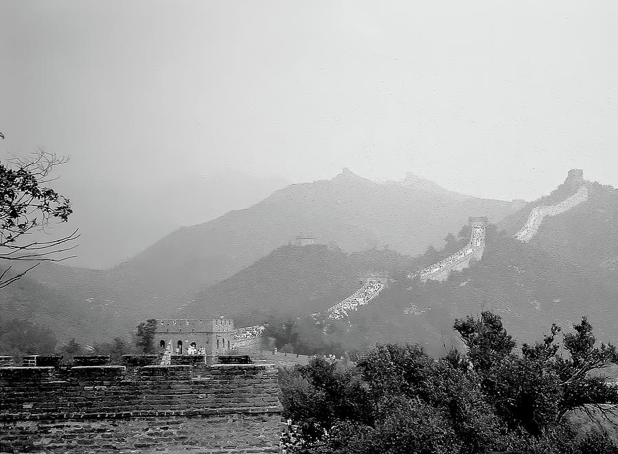 The Great Wall of China by Pete Hendley