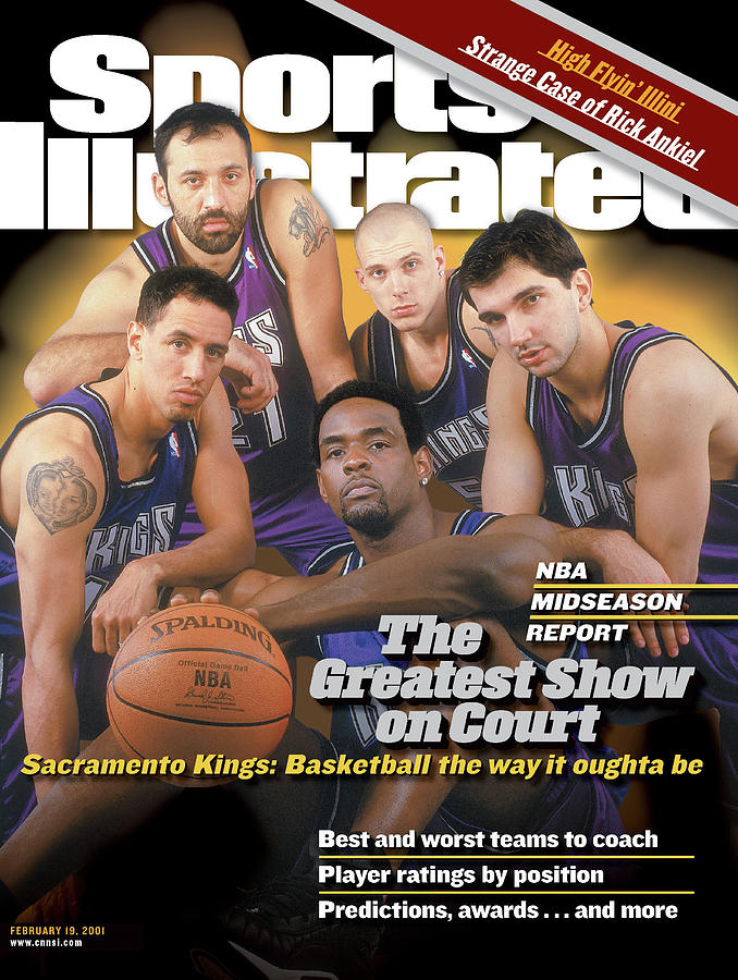 The Greatest Show On Court Sacramento Kings Sports Illustrated Cover Photograph by Sports Illustrated