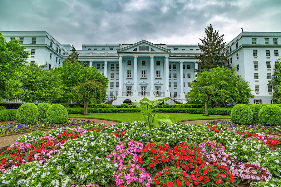 Greenbrier Photograph - The Greenbrier by Betsy Knapp