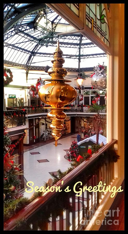 The Grotto at Wayfarers Arcade by Joan-Violet Stretch