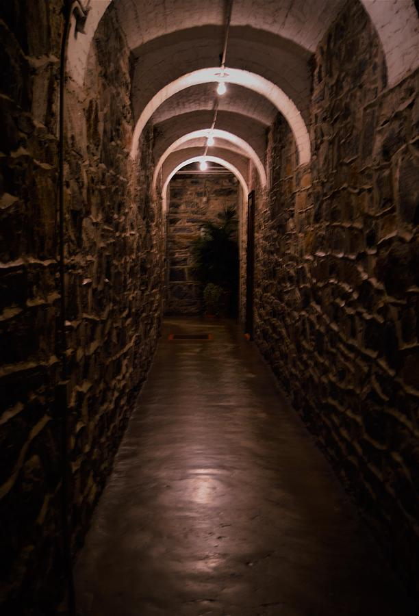 The Hallway Below by Warren Thompson