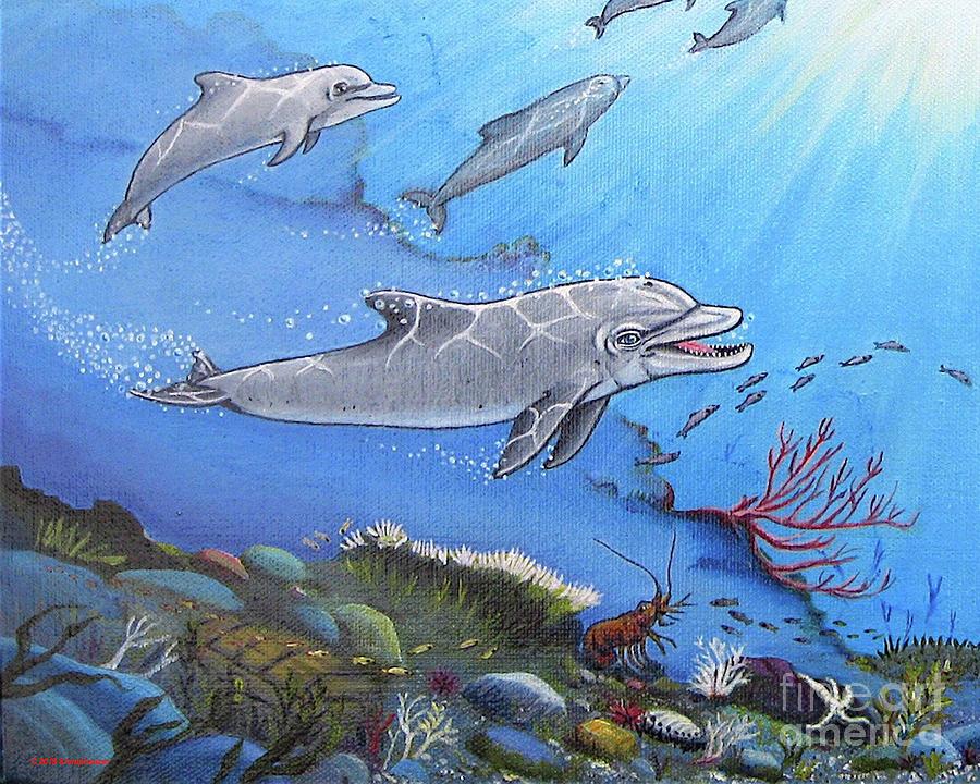 The Happy Dolphin by Jerome Stumphauzer