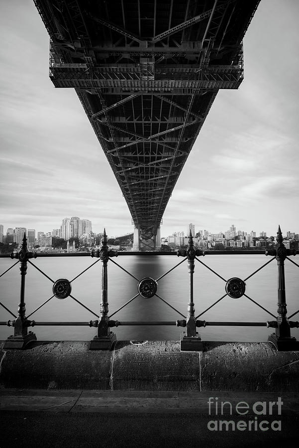The Harbour Bridge - B&w Photograph by Stanley Chen Xi, Landscape And Architecture Photographer