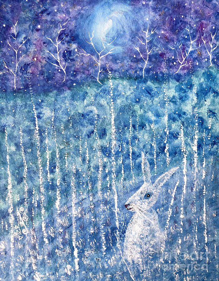 The Hare and the Moon by Julie Engelhardt