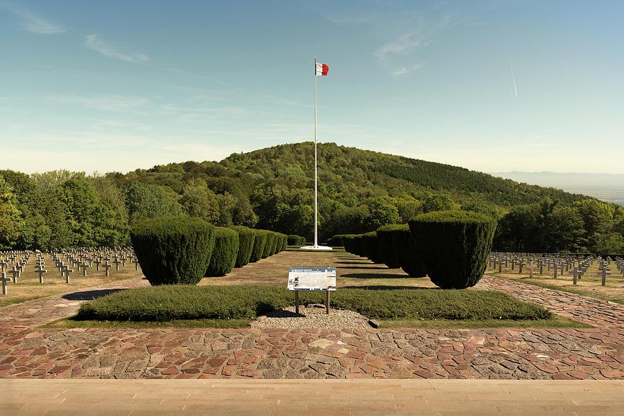 The Hartmannswillerkopf - Vieil Armand battlefield, cemetery #1 by RicardMN Photography