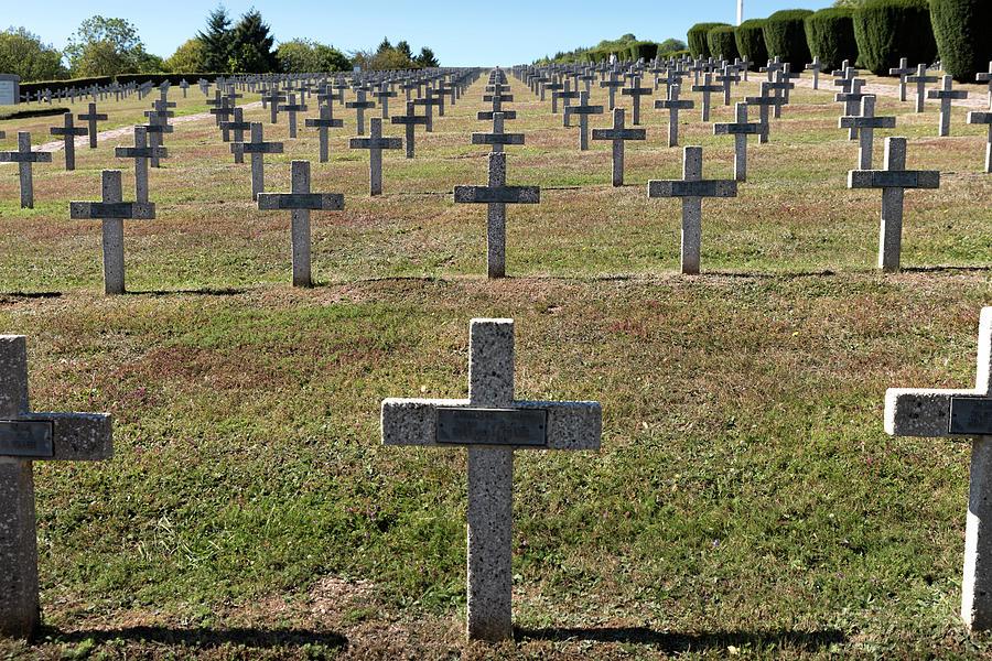 The Hartmannswillerkopf - Vieil Armand battlefield, cemetery #3 by RicardMN Photography