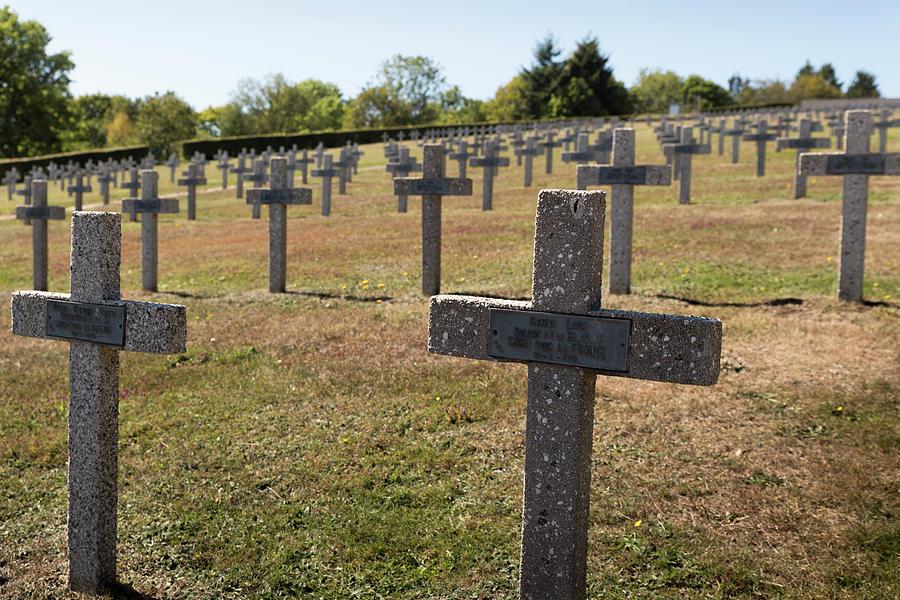 The Hartmannswillerkopf - Vieil Armand battlefield, cemetery #4 by RicardMN Photography