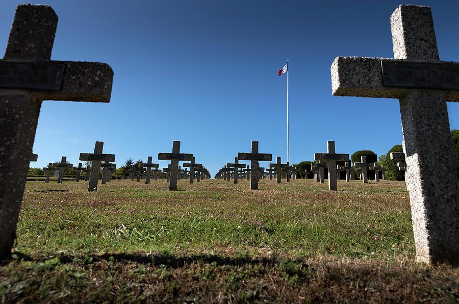 The Hartmannswillerkopf - Vieil Armand battlefield, cemetery #2 by RicardMN Photography
