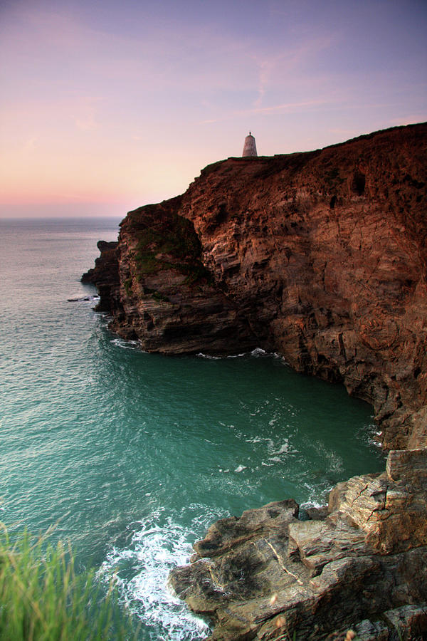 The Headland, Portreath Photograph by Little Fires Photography
