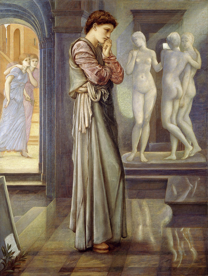 Heart Painting - The Heart Desires by Edward Burne-Jones